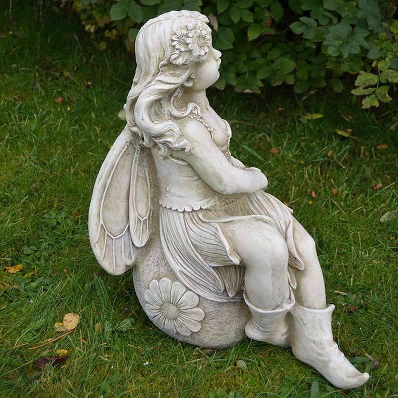 Europa leisure solstice sculptures petal fairy statue on sale - Fairy statues for sale ...