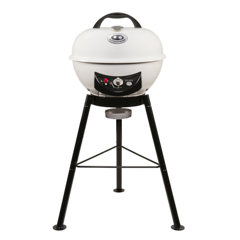 outdoor chef gas kettle barbecue city line city 420 g vanilla. Black Bedroom Furniture Sets. Home Design Ideas