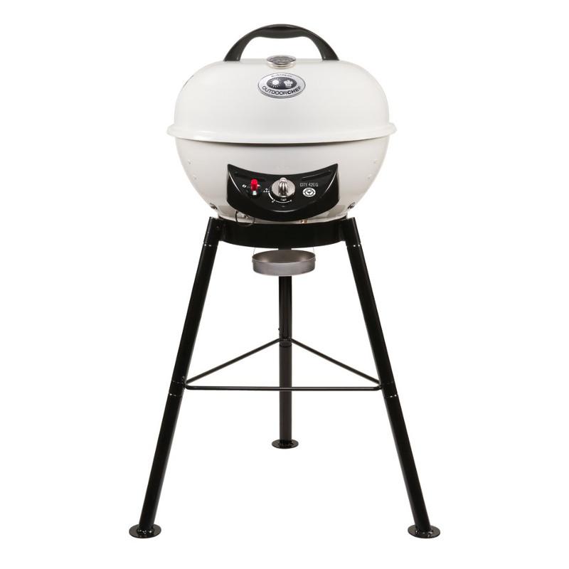 outdoor chef gas kettle barbecue urban line leon 570 g vanilla. Black Bedroom Furniture Sets. Home Design Ideas