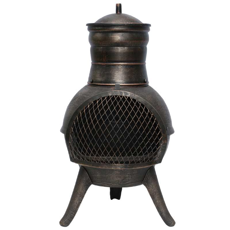 chiminea cast iron chiminea medium black cast iron china cast iron chiminea tch006 china. Black Bedroom Furniture Sets. Home Design Ideas