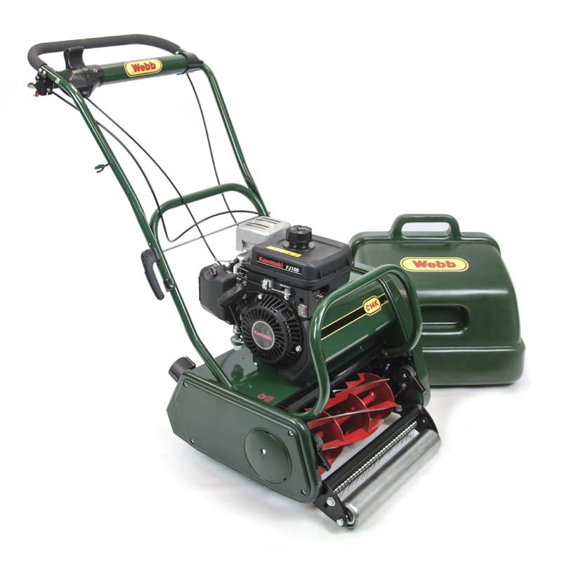 Webb Kawasaki Engine Petrol Cylinder Mowers On Sale Fast