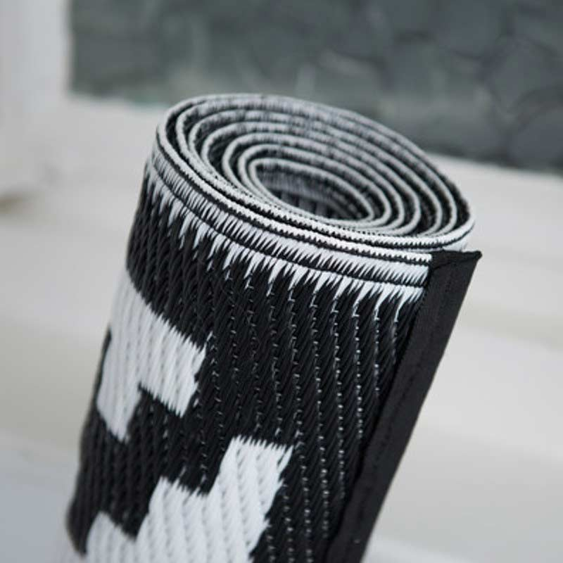 Indoor Outdoor Rugs Black And White: Nirvana Black And White Outdoor Rugs On Sale