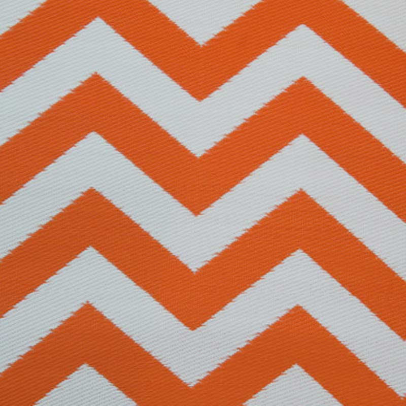 Psychedelia Orange and White Outdoor Rug 120 x 180cm on Sale