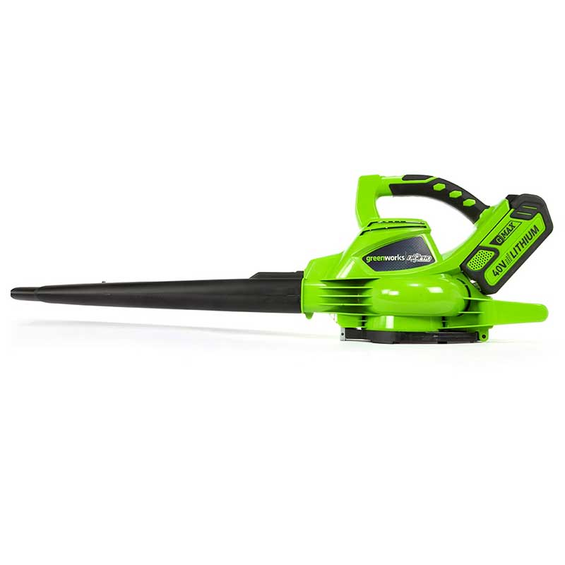 Greenworks Cordless Blowervac 40v With Batteries And Charger