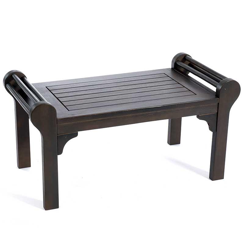 Greenhurst Lutyens Low Level 80cm Coffee Table Grey On Sale