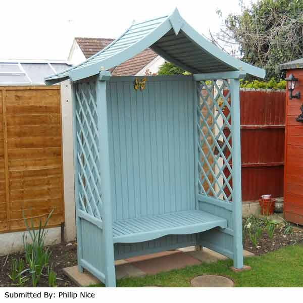 Rowlinson Tenbury 2 Seater Arbour Bench On Sale Fast