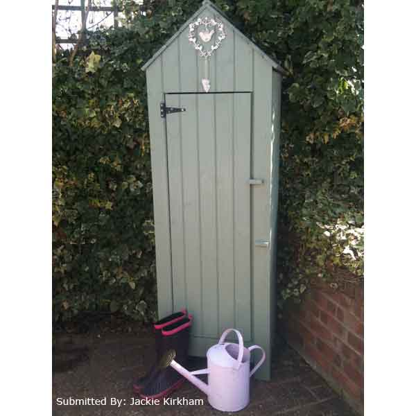 Cannock gardeners tool shed w6ft x d2ft on sale fast for Small outdoor tool shed