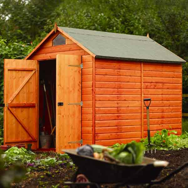 Rowlinson security shed w8ft x d6ft on sale fast for Garden shed security
