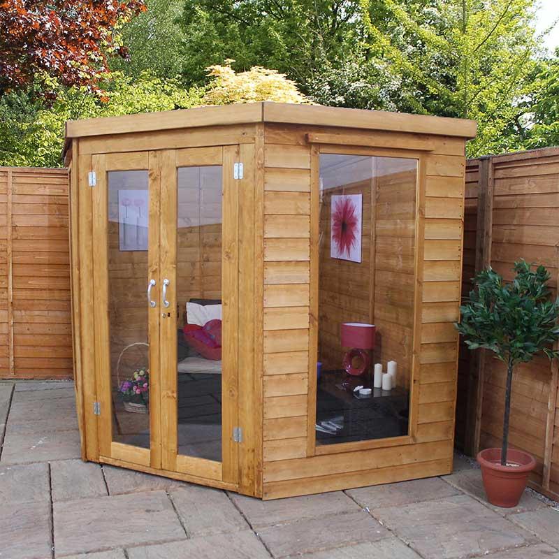 Mercia Corner Summerhouse W7ft X D7ft On Sale Fast