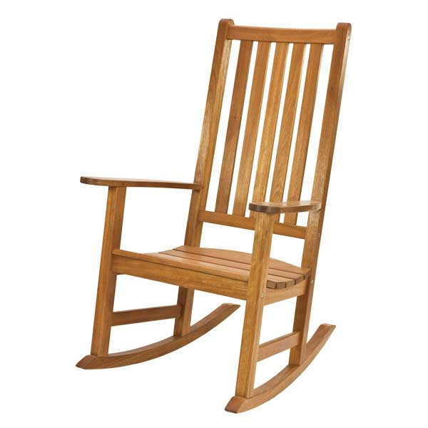 Alexander rose cornis rocking chair on sale fast for Schaukelstuhl outdoor holz
