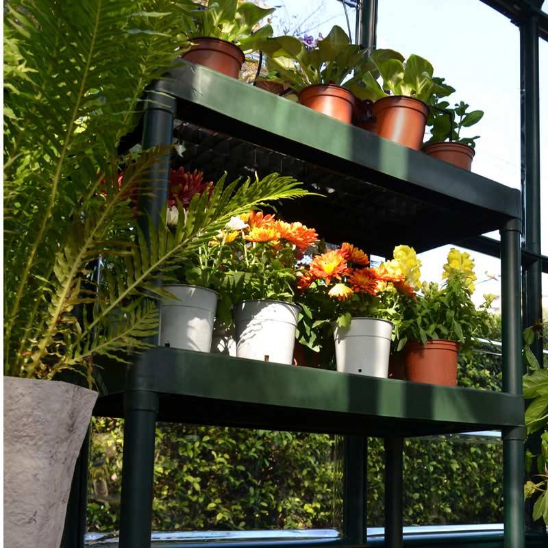 palram 2 tier garden staging 80cm on sale fast delivery. Black Bedroom Furniture Sets. Home Design Ideas