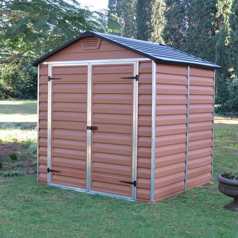 Palram Skylight Shed Amber W6ft X D5ft On Sale Fast