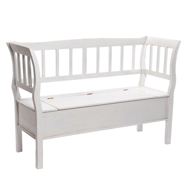 Plastic Garden Storage Bench In Stock Now
