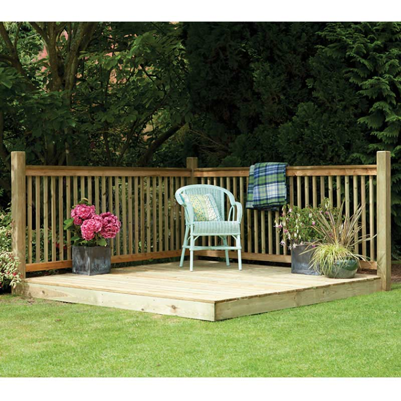 Forest garden fsc patio deck kit on sale fast delivery for Garden decking for sale