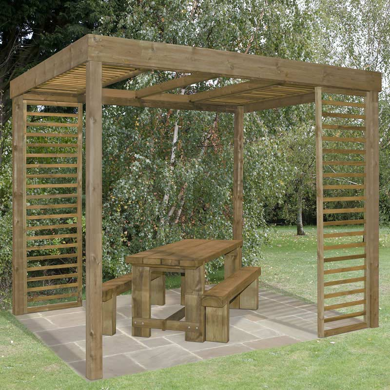 Garden Walk Dining: Forest Garden Dining Pergola On Sale