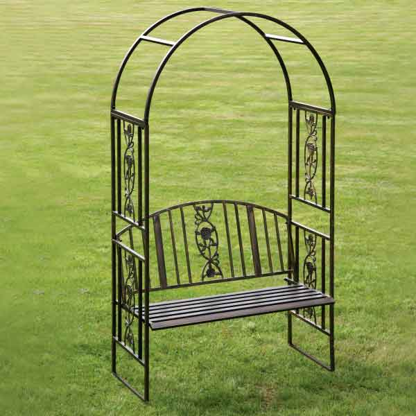 Metal Garden Benches Sale Fast Delivery Greenfingers Com