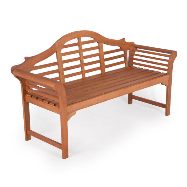 Garden bench lutyens white oak in stock now Lutyens bench
