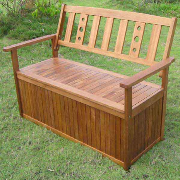 Greenfingers Portland 2 Seater Storage Bench On Sale Fast Delivery