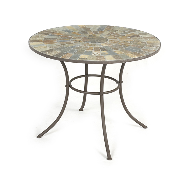 Ellister nova mosaic patio table 80cm on sale fast for Coffee tables 80cm wide