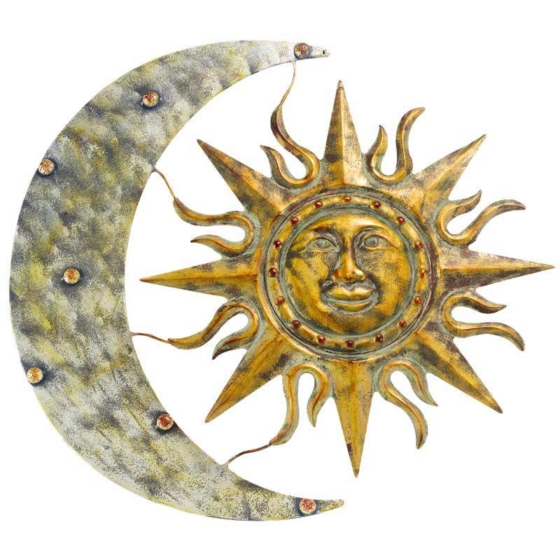Gardman Aztec Sun Moon Wall Art On Sale Fast Delivery