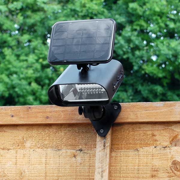 thea led solar garden spotlight reviews