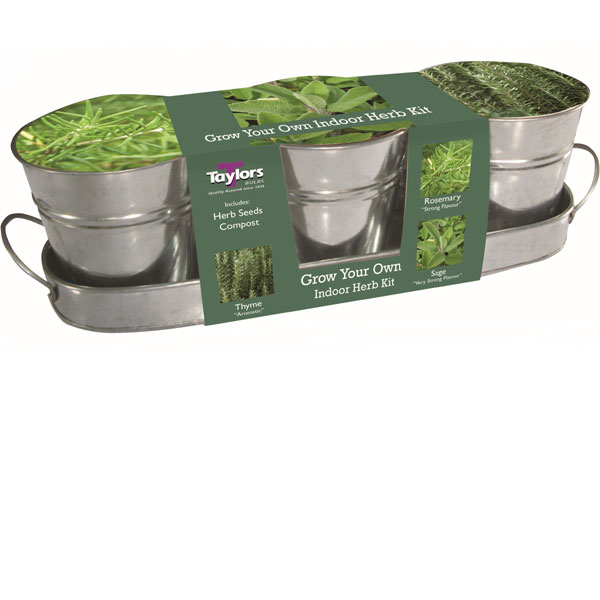 Indoor Metal Herb Kit Tray On Sale Fast Delivery