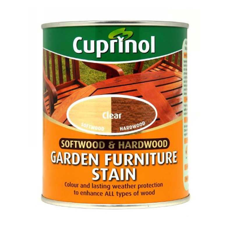 cuprinol garden furniture stain clear 750ml on sale fast. Black Bedroom Furniture Sets. Home Design Ideas