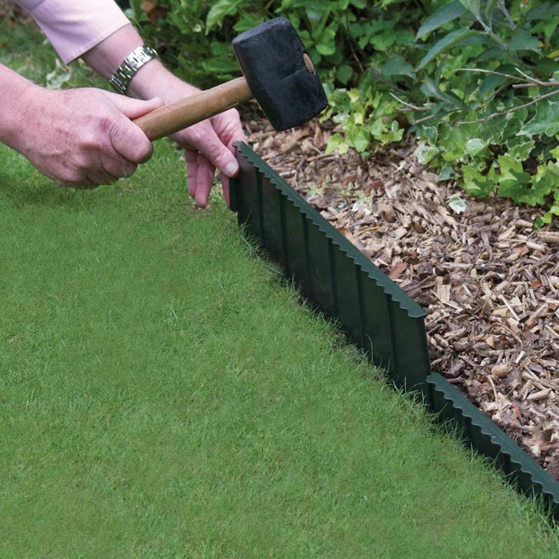 055m bosmere flexi edge lawn edging h15cm on sale fast for Garden trim