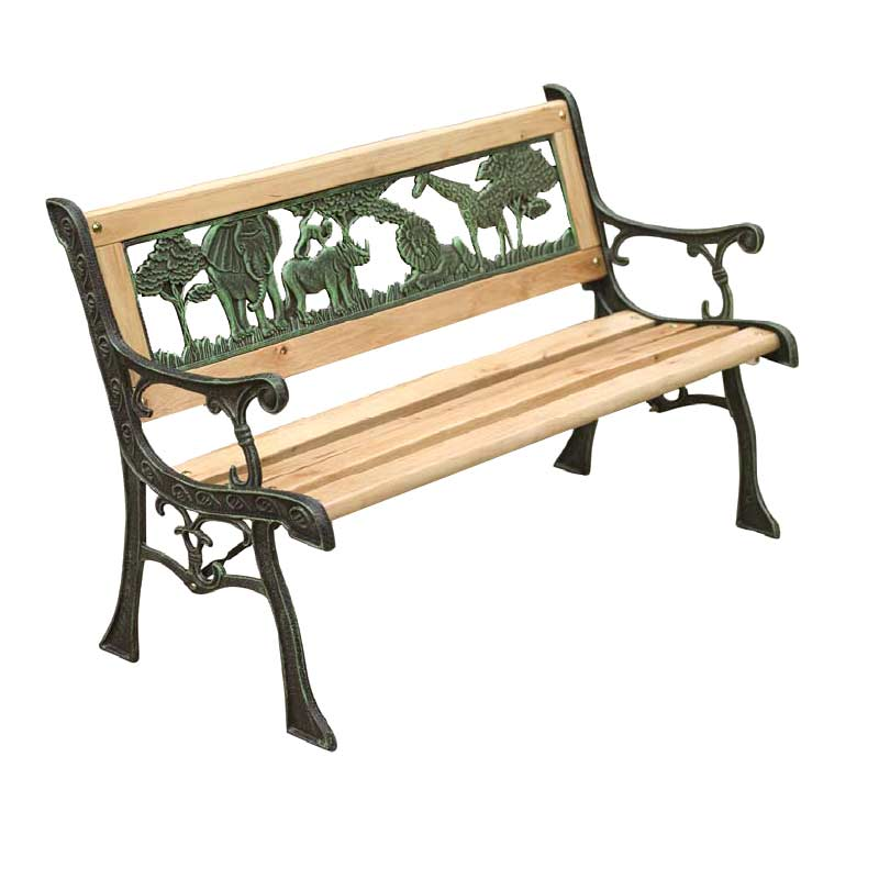 Kids Wooden Garden Bench 82cm On Sale Fast Delivery