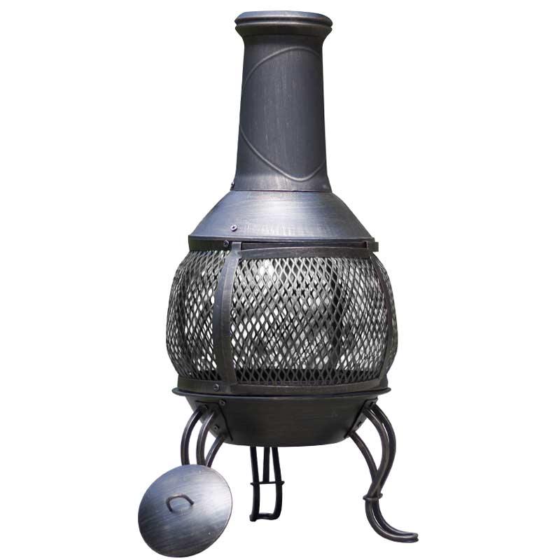 chiminea images chiminea medium black cast iron. Black Bedroom Furniture Sets. Home Design Ideas