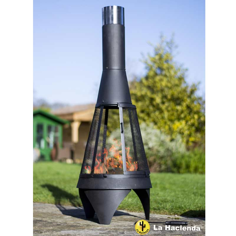 What Paint To Use On A Metal Chiminea