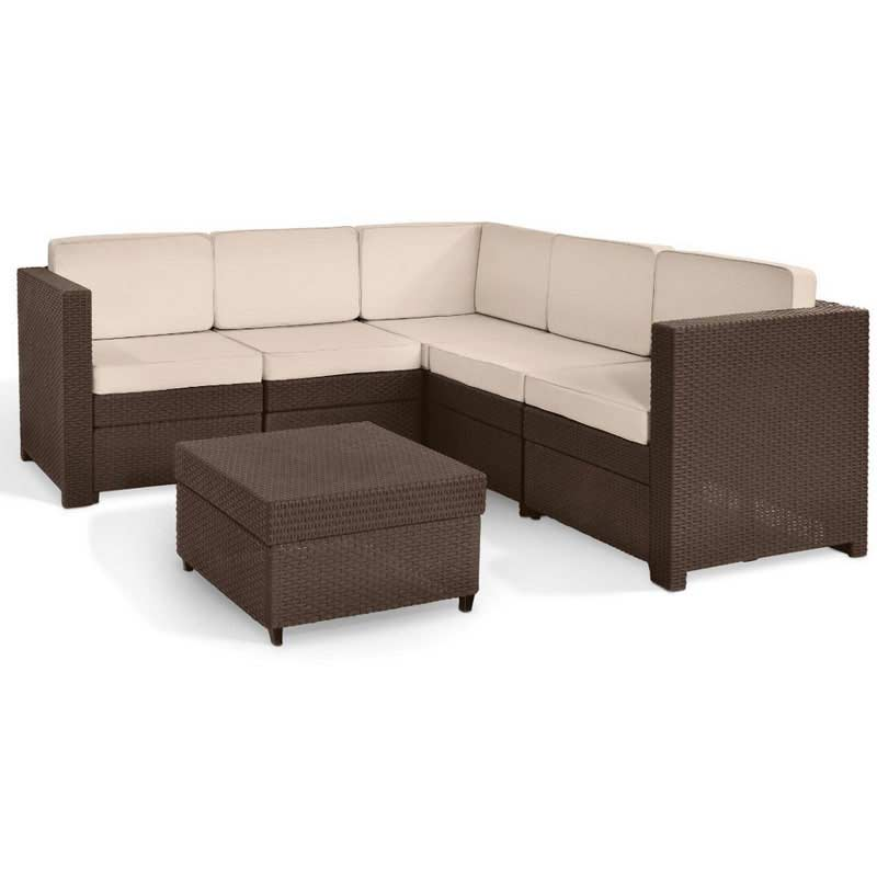 Keter Provence Rattan Corner Sofa Set On Sale Fast