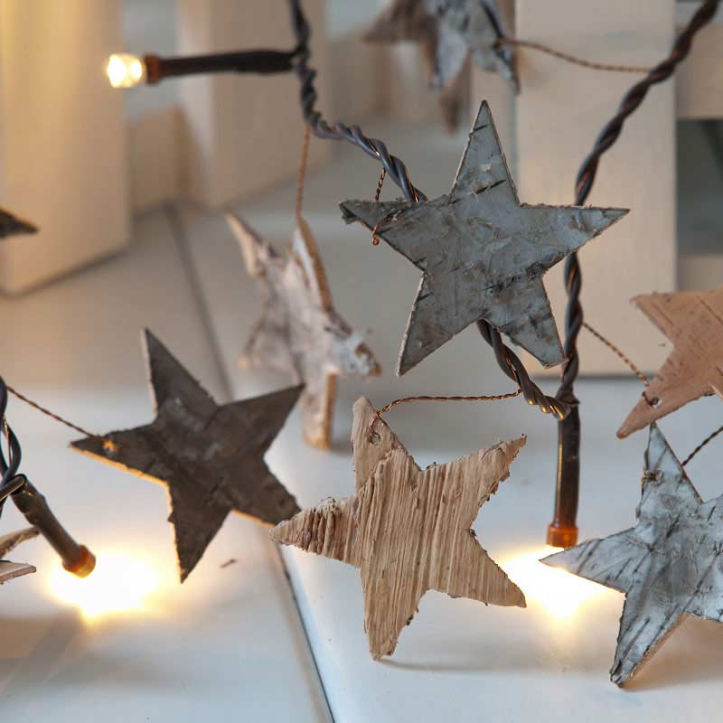Noma Party String Lights : Noma Birch Star String LED Twinkle Lights 16 Warm White on Sale