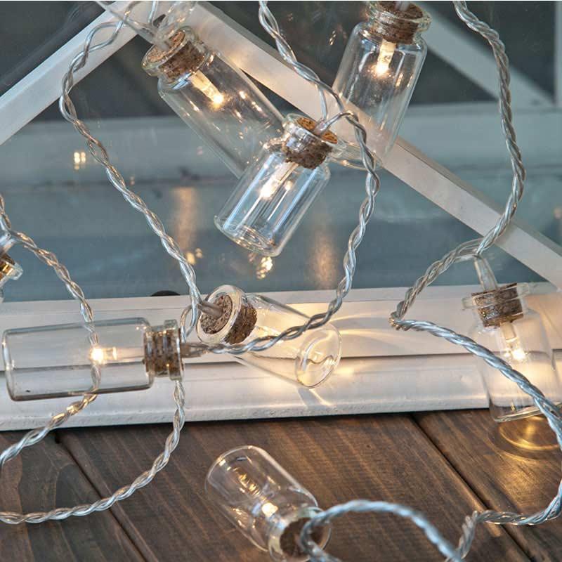 Noma String Lights Led : Noma Light In A Jar String LED Twinkle Lights 16 Warm White