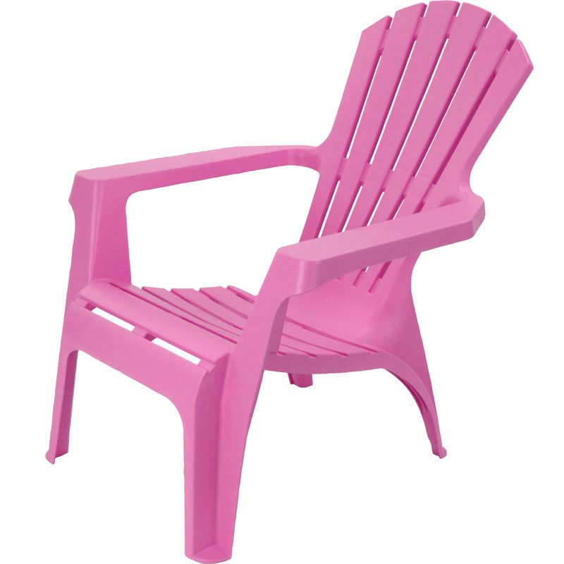 Greenfingers adirondack chair pink on sale fast delivery - Chaise de jardin solide ...