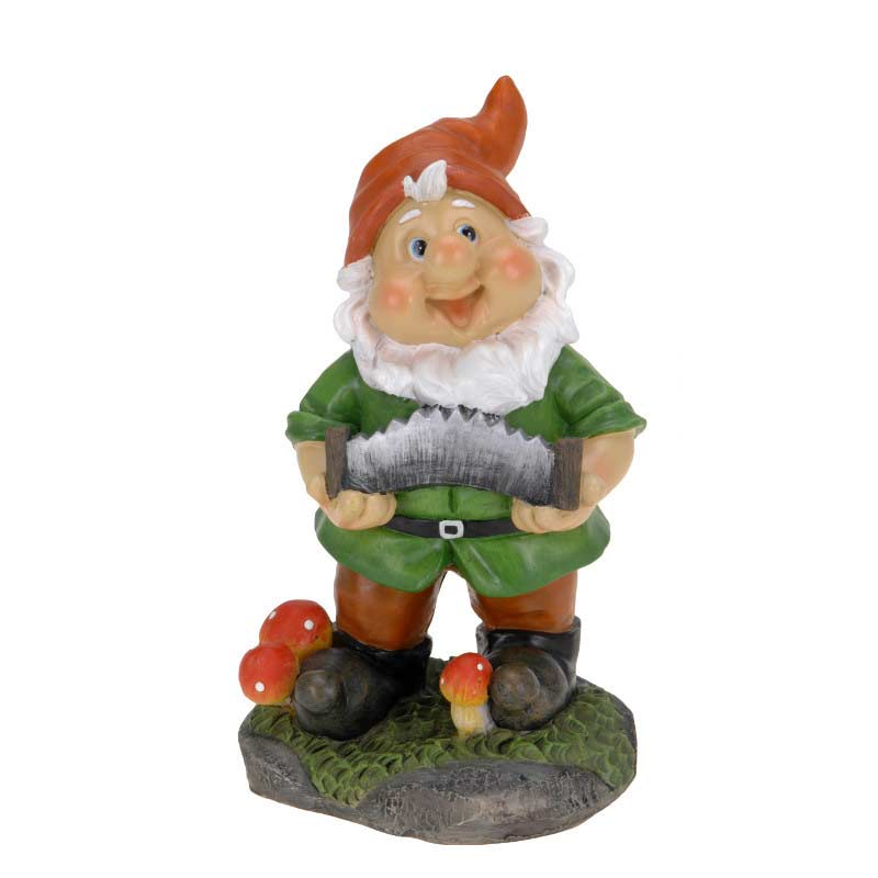 Garden Gnomes On Sale: Greenfingers Garden Gnome 22cm High On Sale