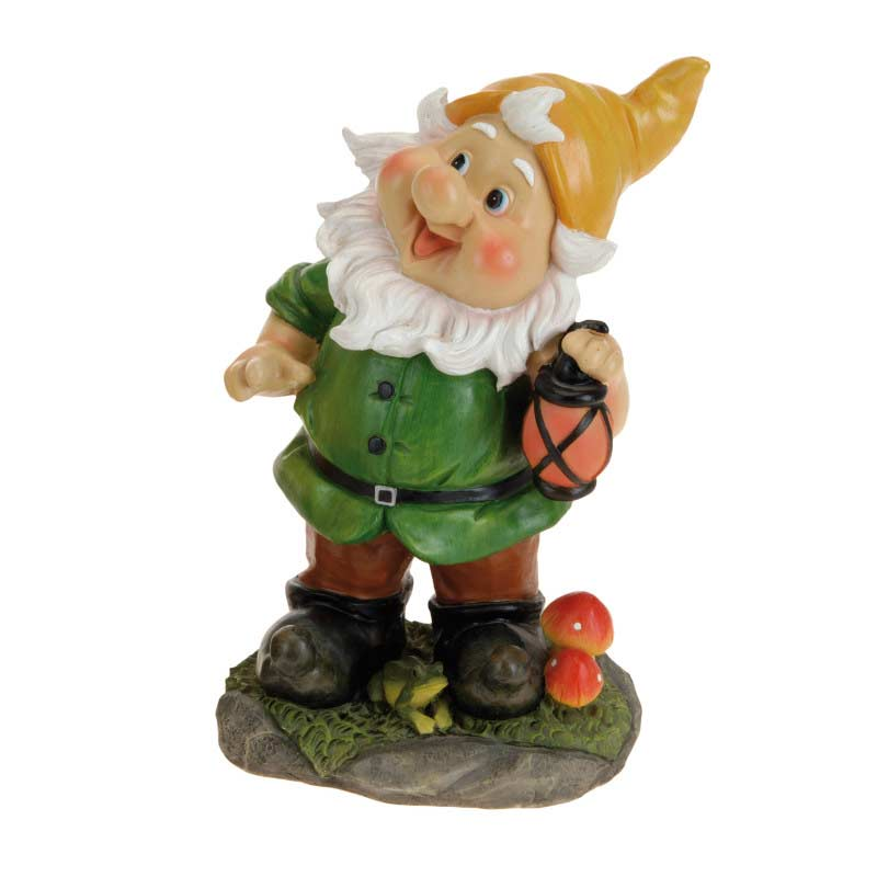Garden Gnomes On Sale: Greenfingers Garden Gnome 31cm High On Sale