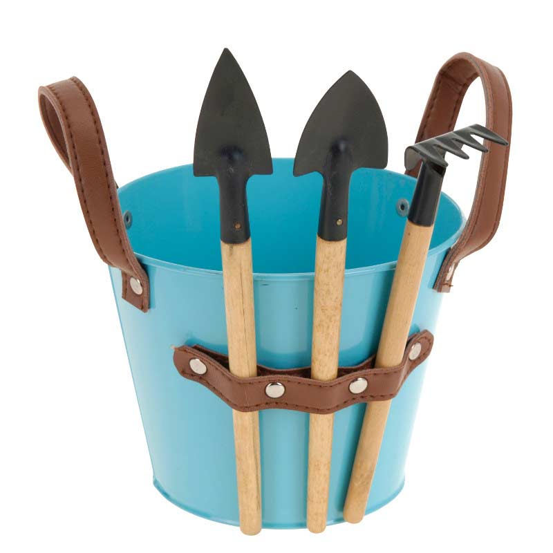Greenfingers garden bucket and tools caddy set on sale for Gardening tools on sale