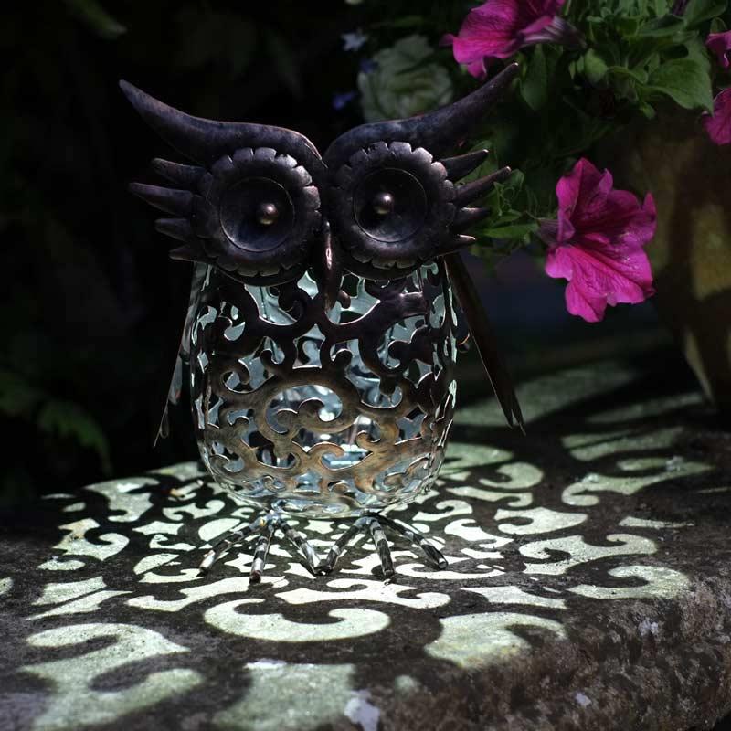 Owl Garden Decor