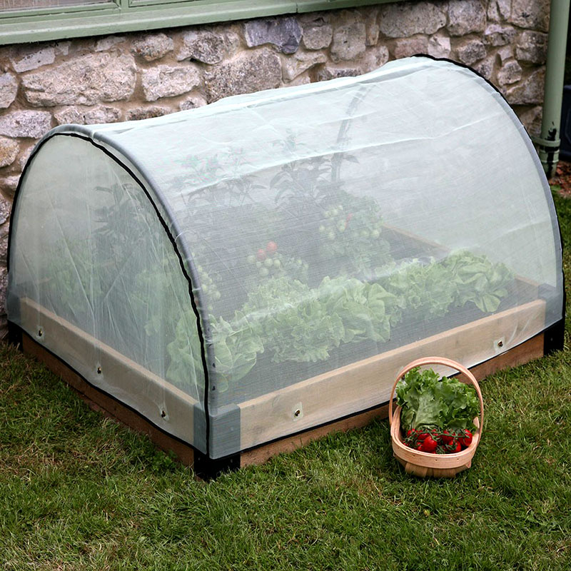 Haxnicks Raised Bed Pest Protection Micromesh Cover 12m X 1m