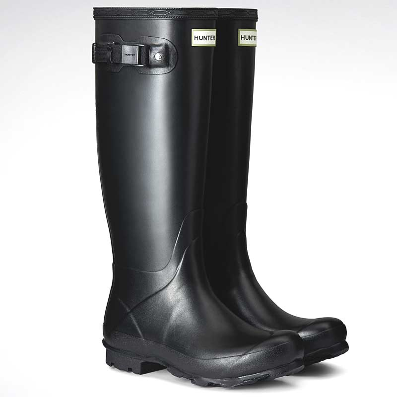 hunter norris field wellington boots womens black on sale. Black Bedroom Furniture Sets. Home Design Ideas