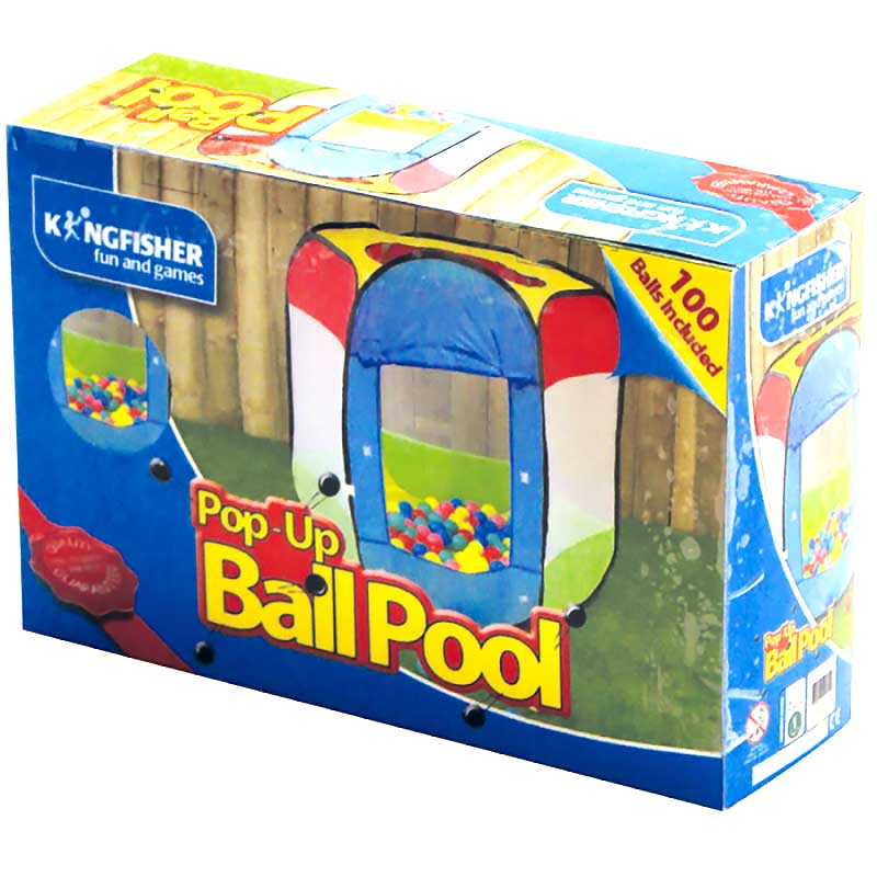 kids popup ball pool with balls on sale fast delivery. Black Bedroom Furniture Sets. Home Design Ideas