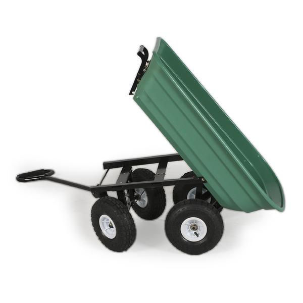 Greenfingers Easy Unloading Garden Trolley On Sale Fast