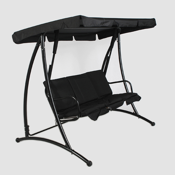 Greenfingers deluxe 3 seater swing seat on sale fast for Extra wide swing seat