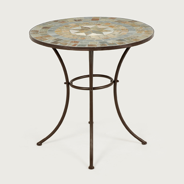 Ellister zurich mosaic patio table 70cm on sale fast for Outdoor furniture zurich