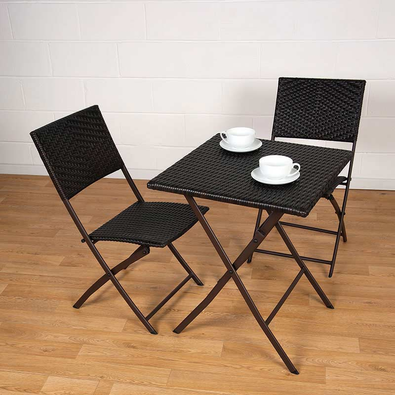 Customer Reviews For Greenfingers Rattan 2 Folding Chairs