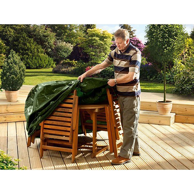 Ambassador Rectangular Furniture Set Cover 6 8 Seater W270 x D180 x H90cm •