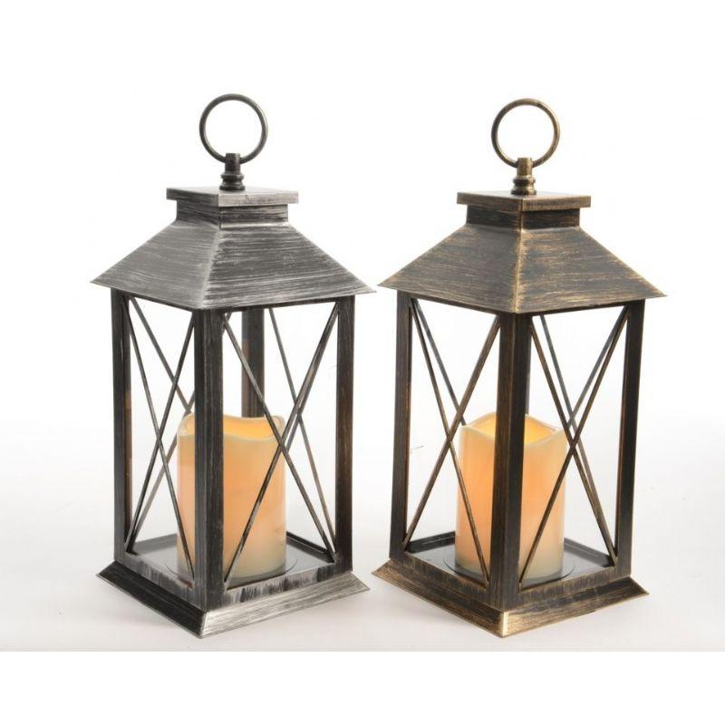 kaemingk led lantern with timer height 34cm on sale fast. Black Bedroom Furniture Sets. Home Design Ideas