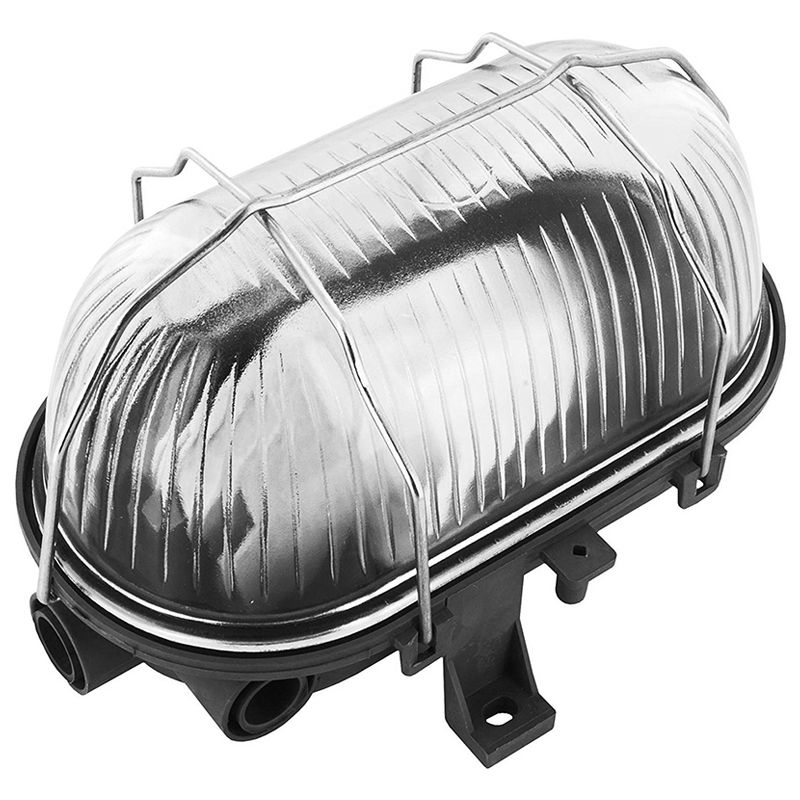 Byron Oval Bulkhead 60w Chrome on Sale  Fast Delivery