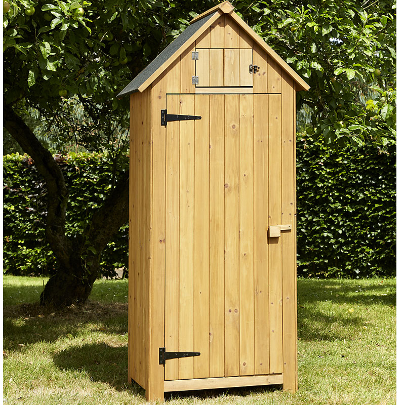 Brundle garden tool shed natural w25ft x d15ft on sale for Small garages for sale